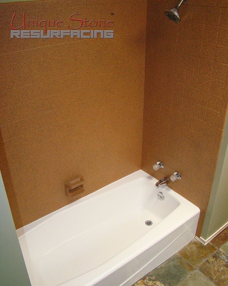 Porcelain Tub Refinishing • Unique Stone Resurfacing