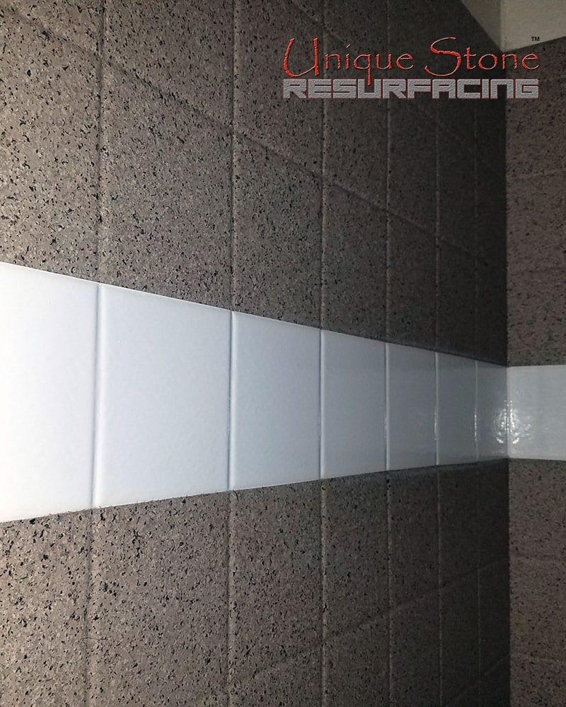 Resurface tile floor