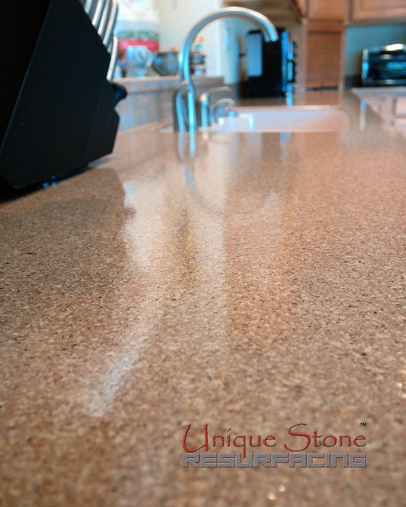 Countertop Refinishing Steps