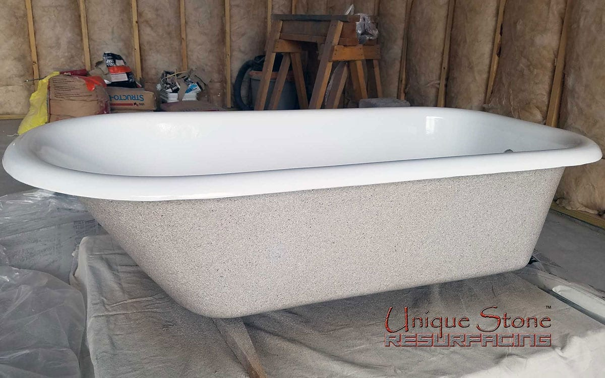 p in porcelain k reve iron flat enameled bathtub non white kohler cast bathtubs tub ft bottom whirlpool