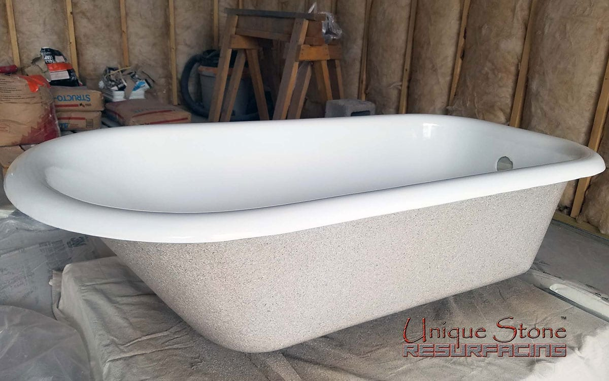 Clawfoot Bathtub Refinishing • Unique Stone Resurfacing™