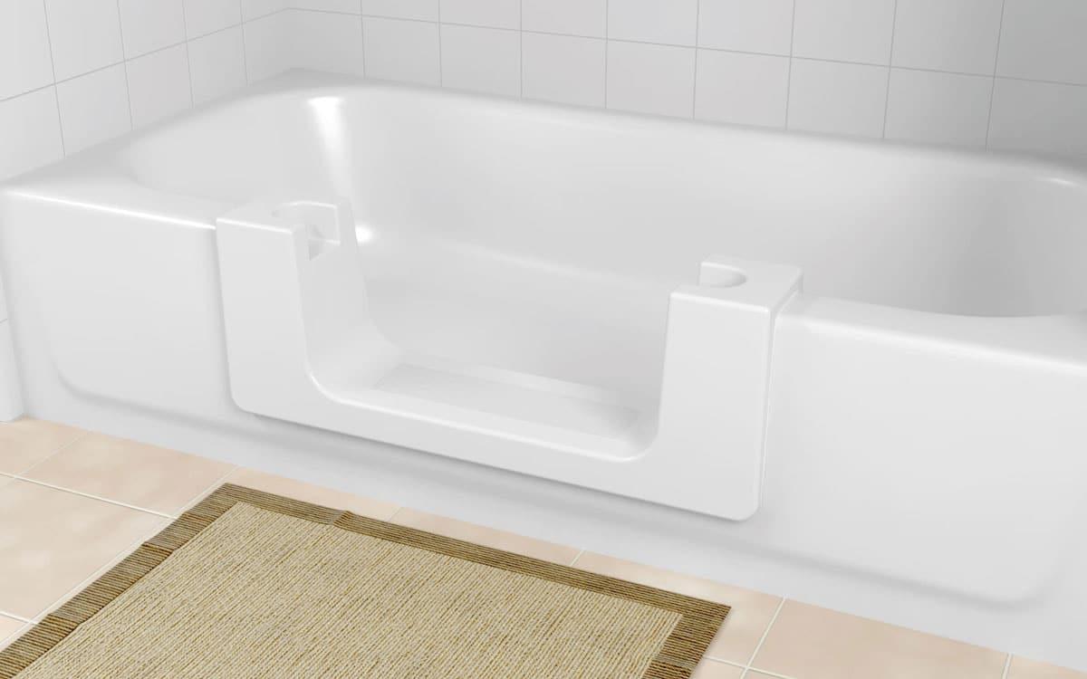 Walking Bathtub Convertible • Unique Stone Resurfacing