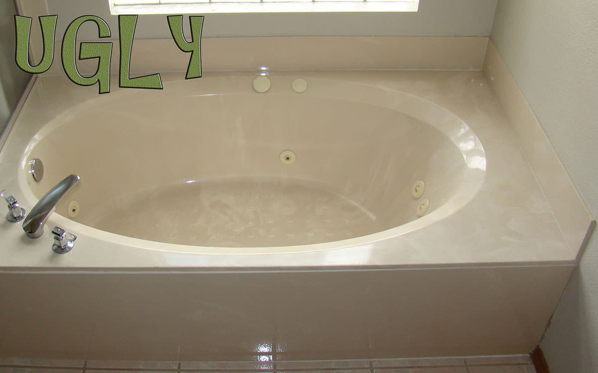 Jet Tub done with Custom Color