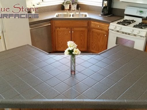 Kitchen Tile Countertops